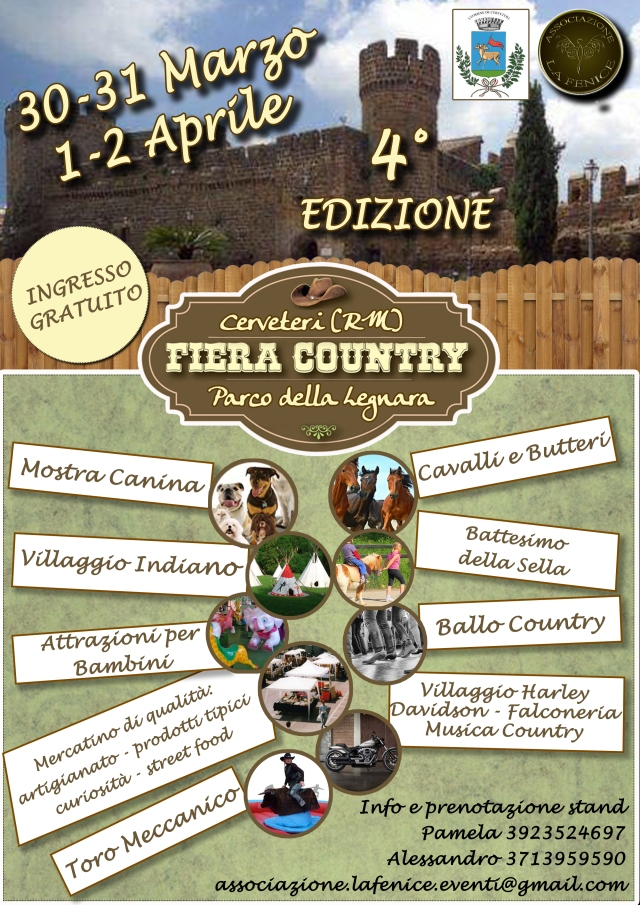 locandina fiere country
